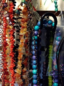 A small sampling of Maria's bead stash