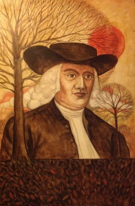 William Penn, painting by Ken Wagle