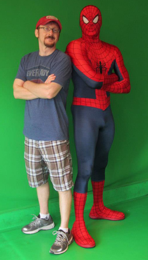 It's your friendly neighborhood Jim & Spider-Man!